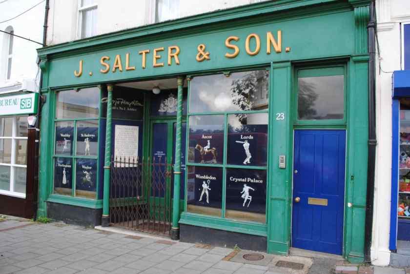 J Salter & Son, Aldershot