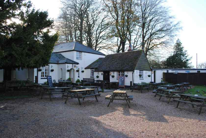 Pub with no name Hampshire
