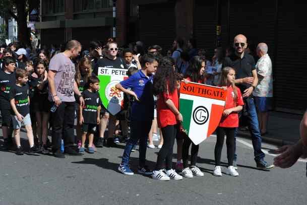 Italian procession 1