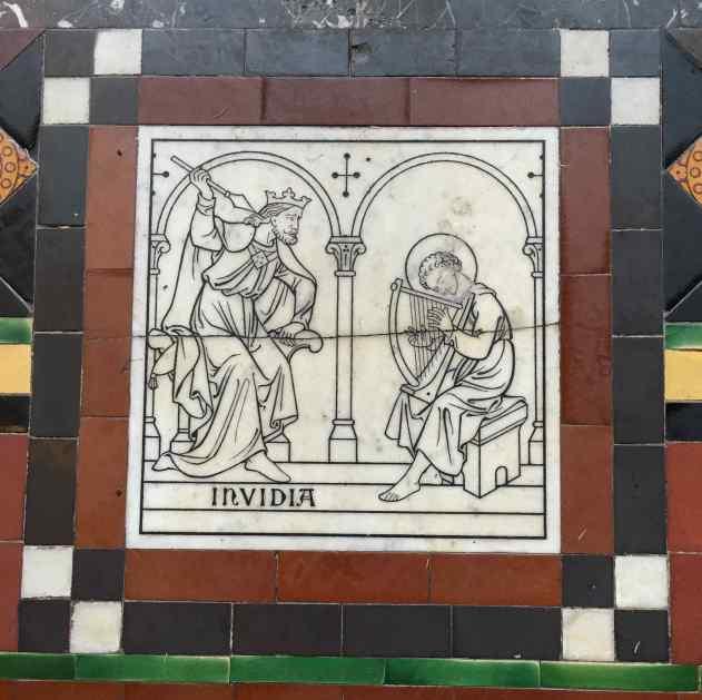 St John the Baptist Frome Invidia