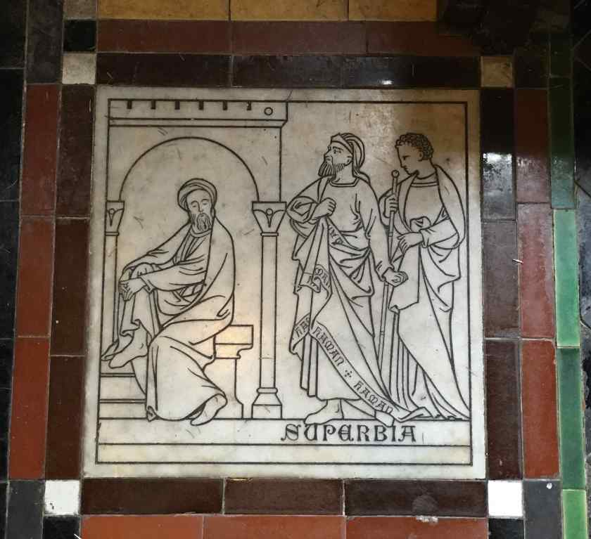 St John the Baptist Frome Superbia