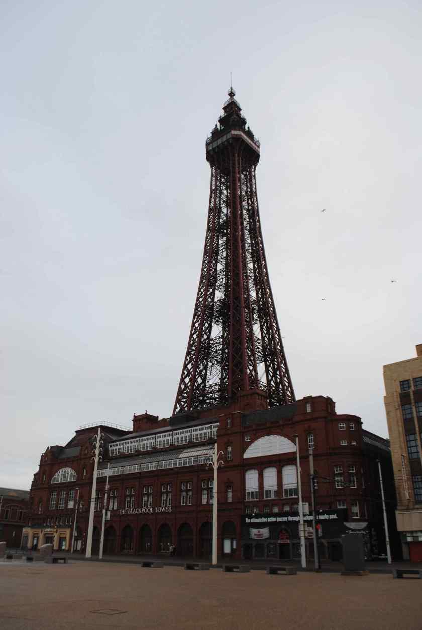Blackpool Christmas Day