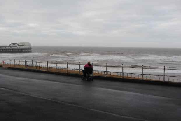 Blackpool Christmas Day