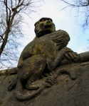 Cardiff animal wall apes