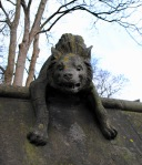 Cardiff animal wall hyena