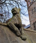 Cardiff animal wall lioness