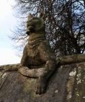 Cardiff animal wall lynx