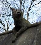 Cardiff animal wall wolf