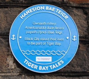 Tiger Bay plaque