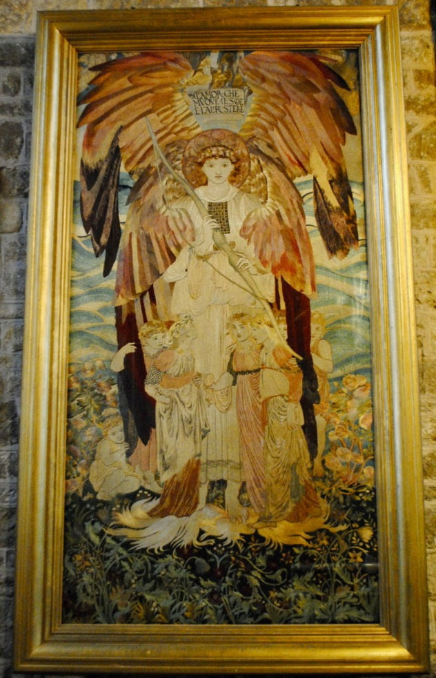Mells angel tapestry
