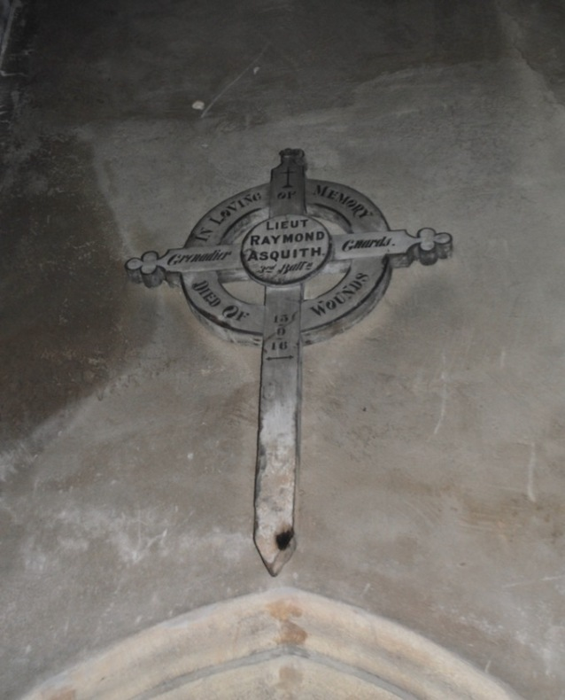 Mells Raymond Asquith grave cross