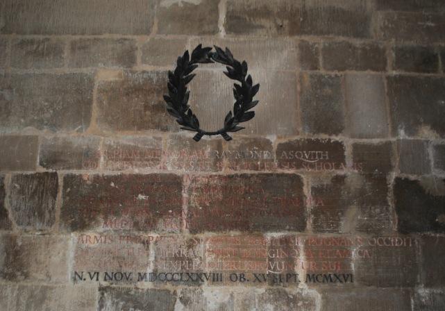 Mells Raymond Asquith memorial
