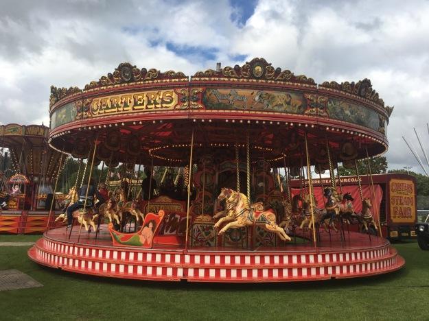 Merry-go-round Carters Steam Fair