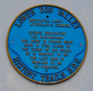 Spence Broughton plaque