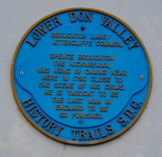 Spence Broughton plaque