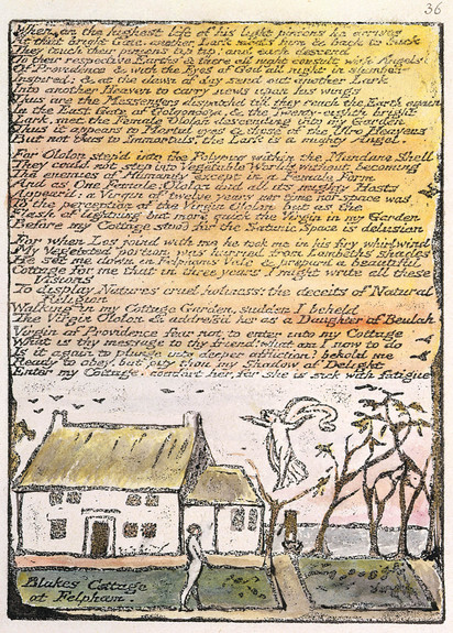 Felpham cottage - Blake