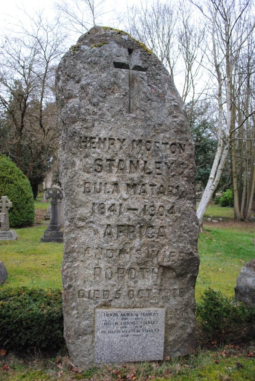 HM Stanley grave