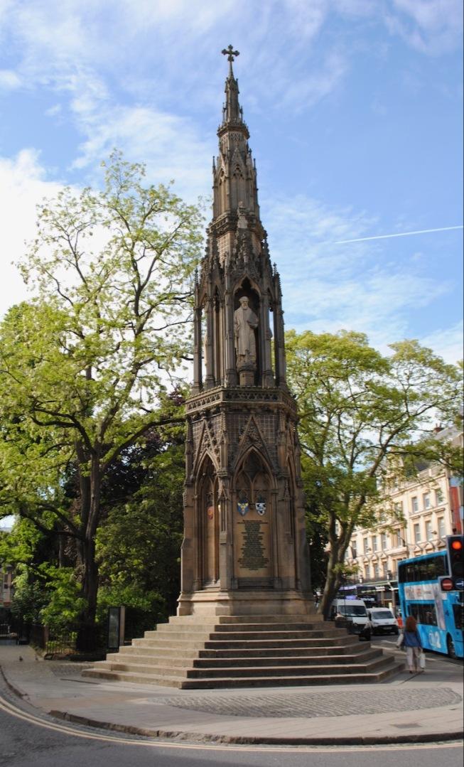 Martyrs Memorial, St Giles