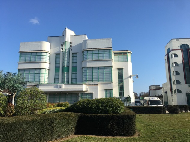 Hoover building - exterior